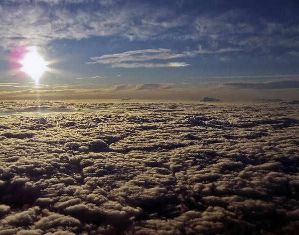 Photograph - Undercast And Sun by Greg Reed