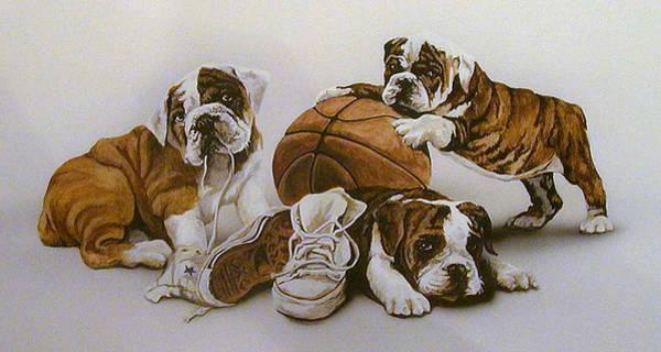 Painting - Underdogs by Tim  Joyner