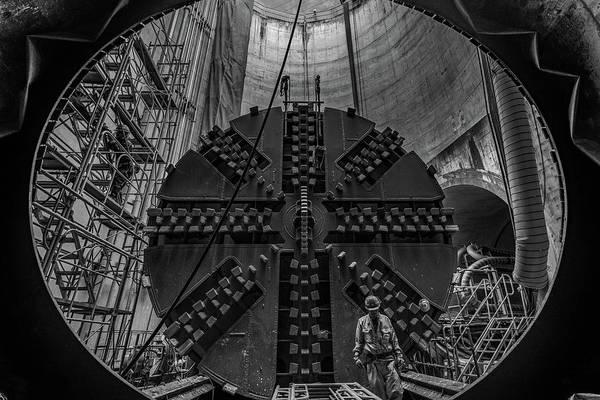 Drilling Photograph - Underground by Kobayashi Tetsurou