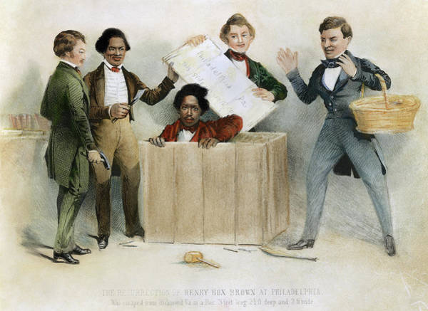 Wall Art - Painting - Underground Railroad, 1850 by Granger