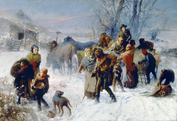 Painting - Underground Railroad by Granger