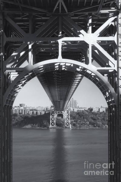 Photograph - Underneath The George Washington Bridge Iv by Clarence Holmes