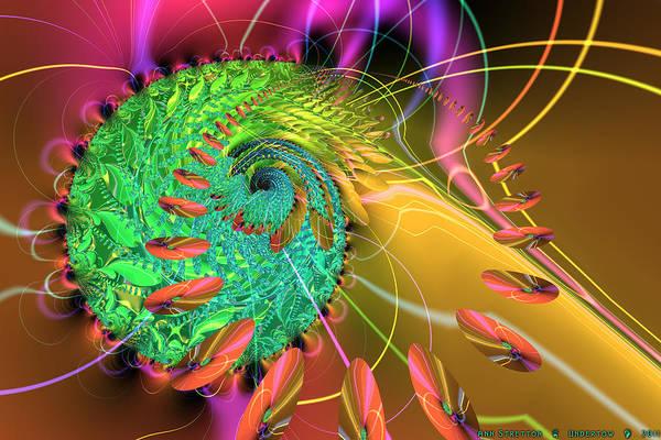 Digital Art - Undertow by Ann Stretton