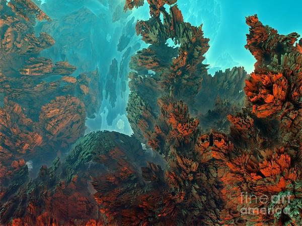 Digital Art - Underwater 1 by Bernard MICHEL