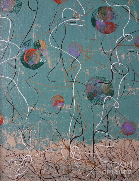 Painting - Underwater -1 by Jacqueline Athmann
