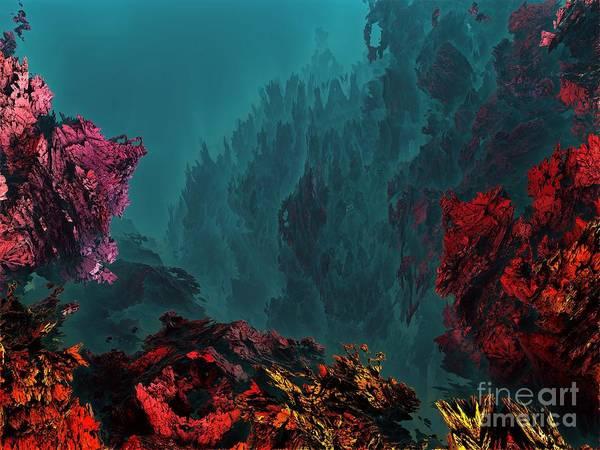 Digital Art - Underwater 10 by Bernard MICHEL