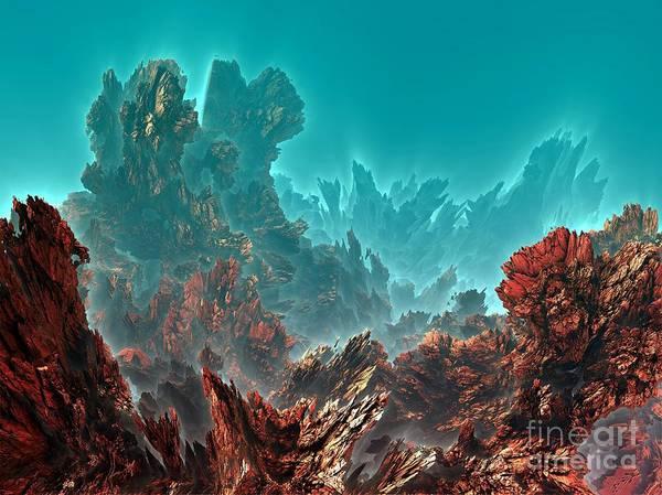 Reef Diving Digital Art - Underwater 3 by Bernard MICHEL