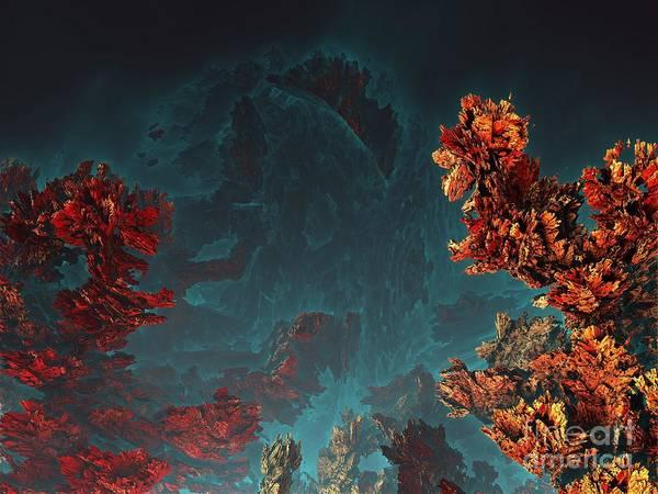 Digital Art - Underwater 5 by Bernard MICHEL