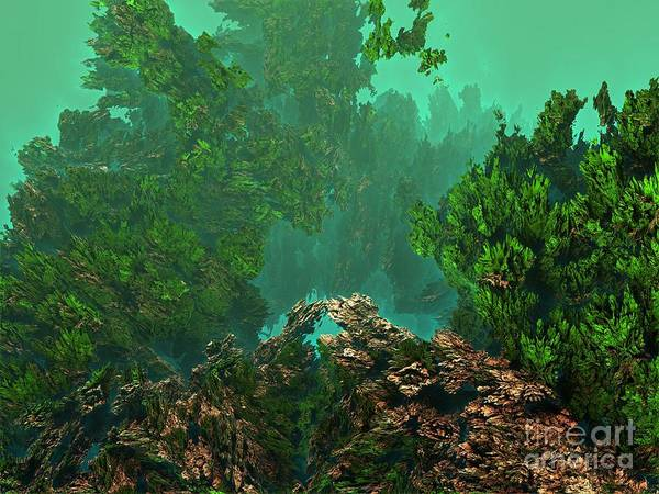 Digital Art - Underwater 8 by Bernard MICHEL