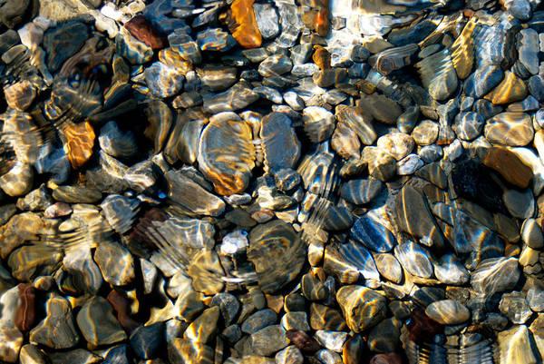 Alejandro Gutierrez Wall Art - Photograph - Underwater Pebbles by Alejandro Gutierrez