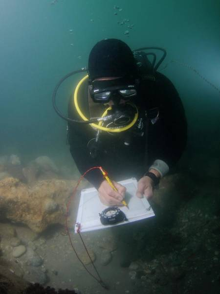 Wall Art - Photograph - Underwater Survey by Photostock-israel/science Photo Library