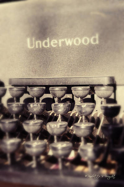 Photograph - Underwood by Paulette B Wright