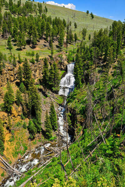 Photograph - Undine Falls 2013 by Greg Norrell