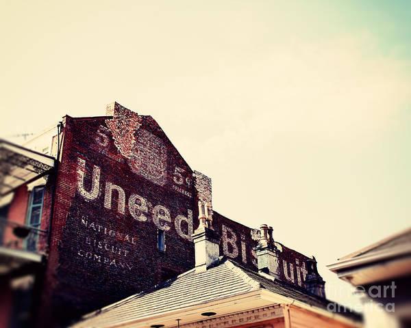 Nabisco Photograph - Uneeda Biscuit by Erin Johnson
