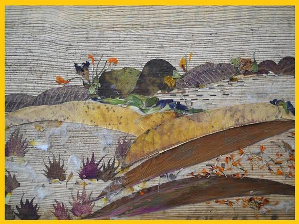 Eco Friendly Mixed Media - Uneven Landscape  by Basant Soni