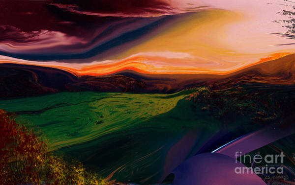 Unexpected Painting - Unexpected Landscape by Christian Simonian