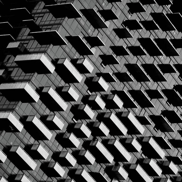Repetition Wall Art - Photograph - Unfinished Balcony by Jonathan Lai