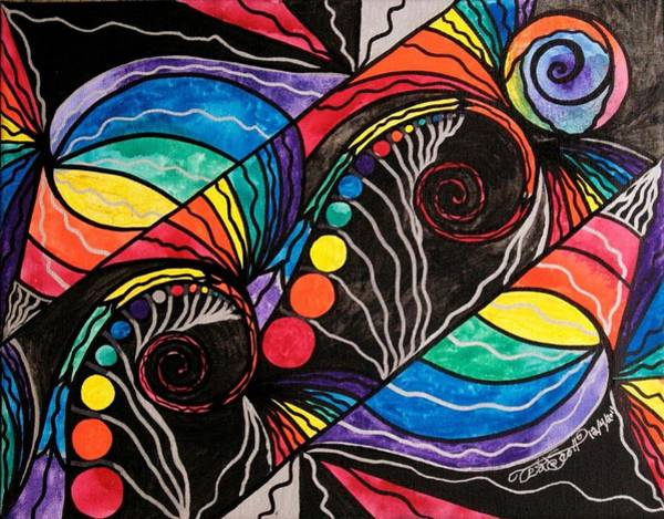 Allopathy Wall Art - Painting - Unfold by Teal Eye Print Store