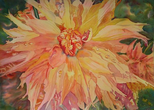 Painting - Unfolding by Tara Moorman