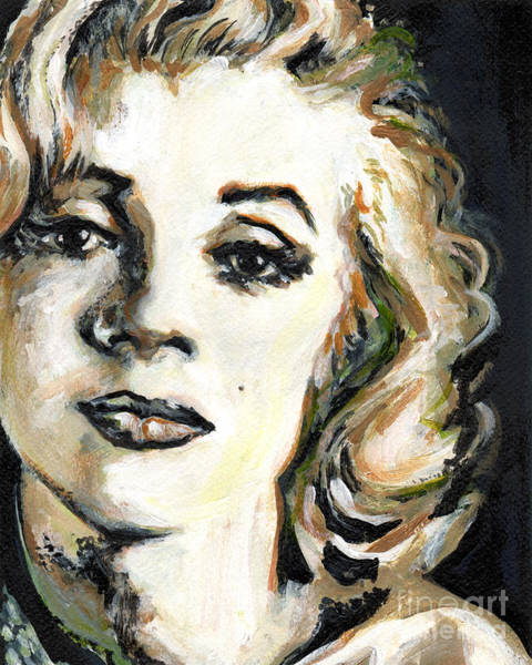 Norma Jeane Mortenson Painting - Unforgettable by Tanya Filichkin