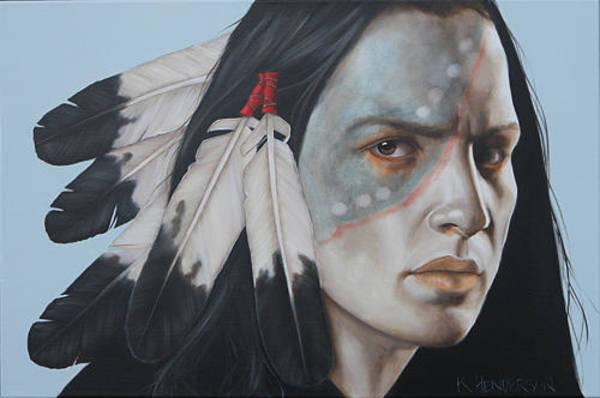 Wall Art - Painting - Unforgiven By K Henderson  by K Henderson