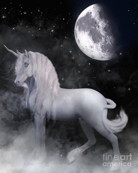 Digital Art - Unicorn Dreams by Elle Arden Walby