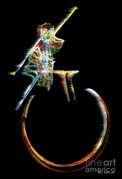 Digital Art - Unicyclone by RC DeWinter