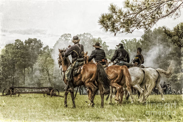 Photograph - Union Cavalry by Kim Henderson