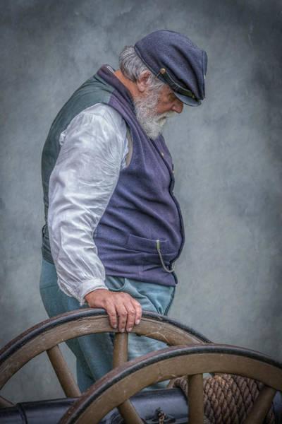 Union Civil War Soldier The Veteran  Art Print