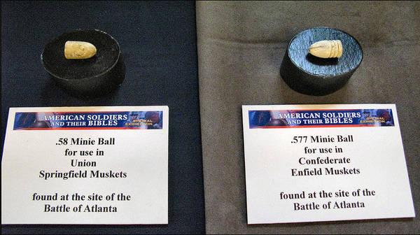 Photograph - Union-confederate Minnie Balls by Glenn Bautista