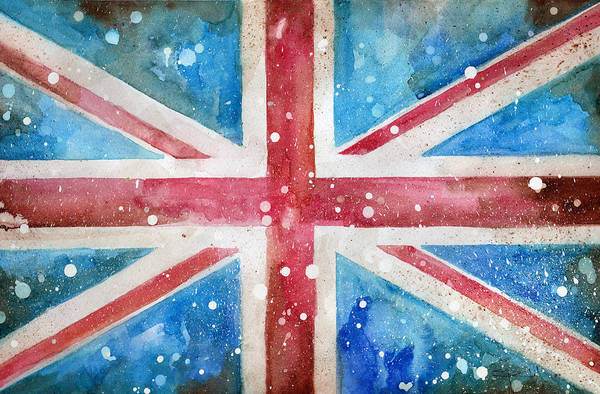 Painting - Union Jack by Sean Parnell