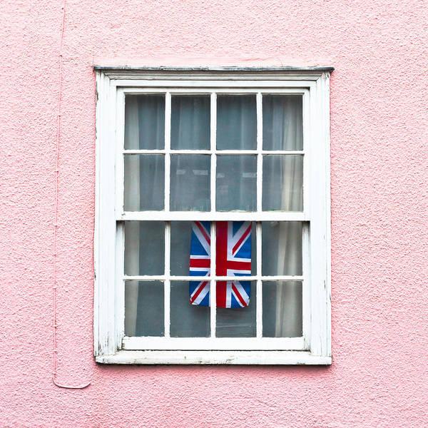 Windows Wall Art - Photograph - Union Jack by Tom Gowanlock