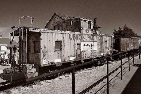 Photograph - Union Pacific Rail Car by Ricardo J Ruiz de Porras