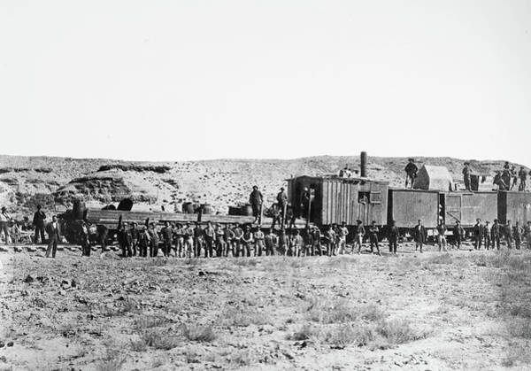 Photograph - Union Pacific Railroad, 1868 by Granger