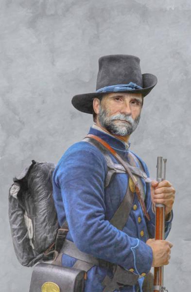 Union Soldier American Civil War  Art Print