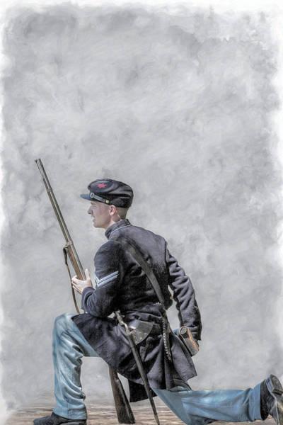Union Soldier Civil War Art Print