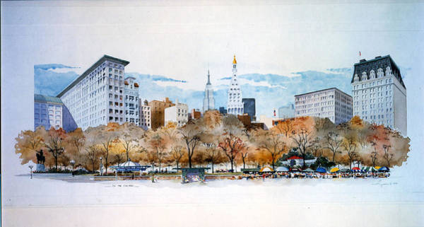 Union Square Nyc Art Print