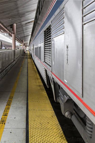 Photograph - Union Station Amtrak Platform by Jim Moss