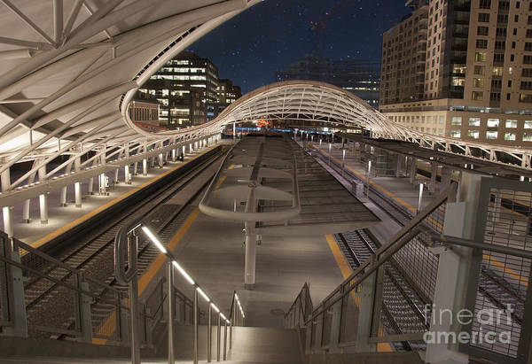 State Of Colorado Photograph - Union Station At Night  by Juli Scalzi