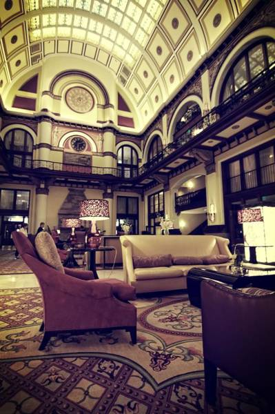 Photograph - Union Station Lobby by Dan Sproul