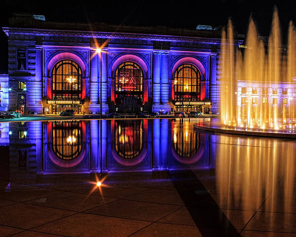 Wall Art - Photograph - Union Station Reflection by Kevin Anderson
