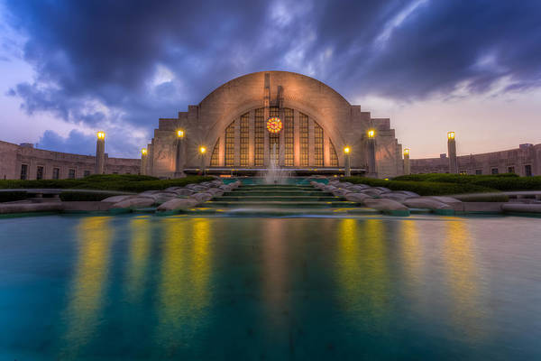 Photograph - Union Terminal Cincinnati Museum Center by Keith Allen