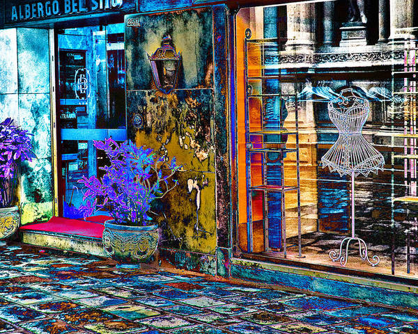 Photograph - Unique Boutique by William Beuther
