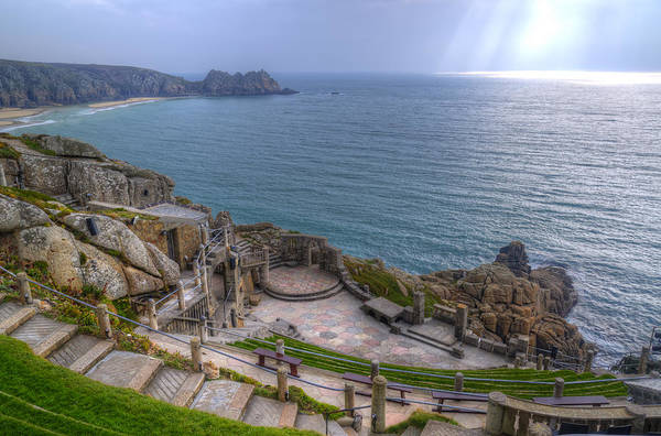 Rowena Photograph - Unique Minack Theatre Cornwall England by Matthew Gibson