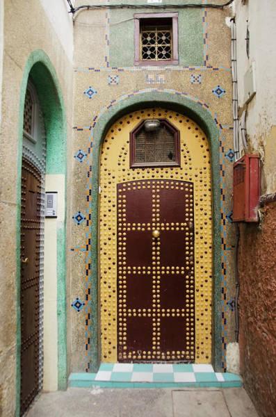 Design Photograph - Uniquely Decorated Door With An Arch by Diane Levit / Design Pics