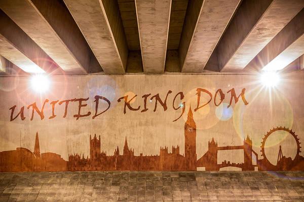 Wall Art - Photograph - United Kingdom Graffiti Skyline by Semmick Photo