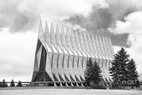 Photograph - United States Air Force Academy Chapel  by University Icons