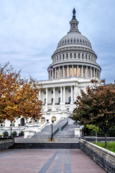 Photograph - United States Capitol by Susan Candelario