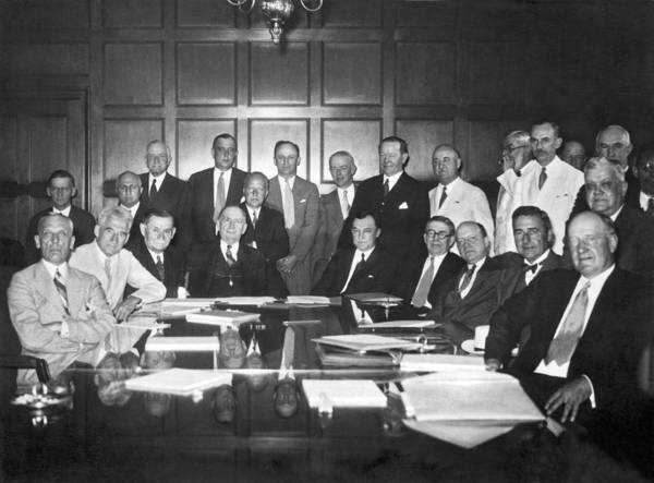 Appearance Photograph - United States Industry Leaders by Underwood Archives