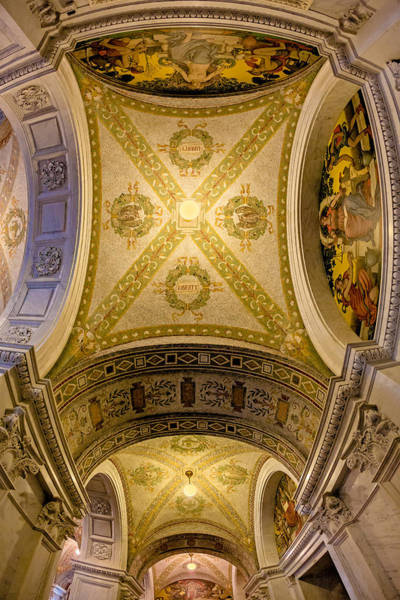 Photograph - United States Library Of Congress by Susan Candelario